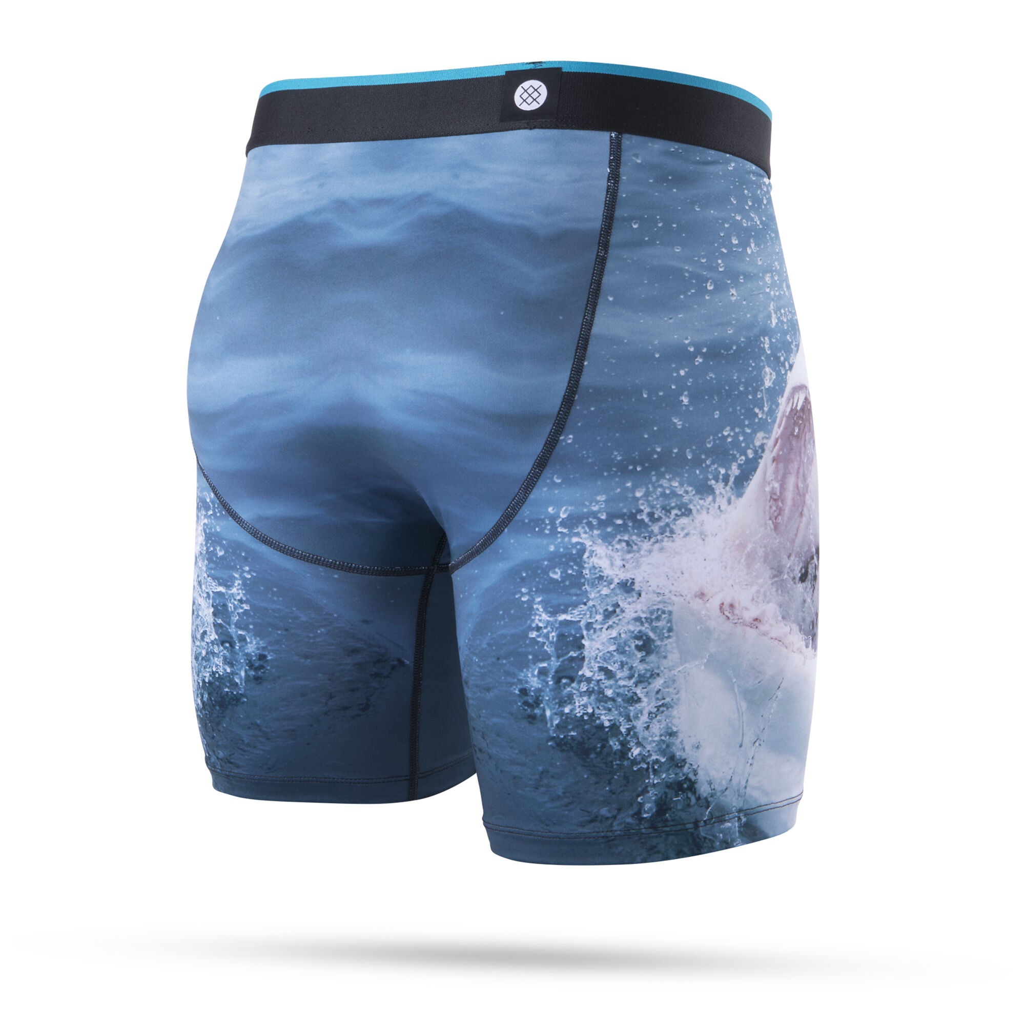 Shark Tooth Stance Boxer Brief