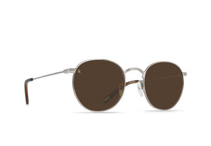RAEN Benson Sunglasses (Ridgeline + Black & Tan / Vibrant Brown)
