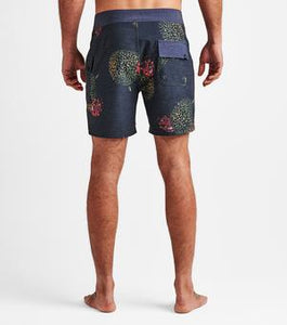 "Chiller Durian 17"" Boardshort (Charcoal)"