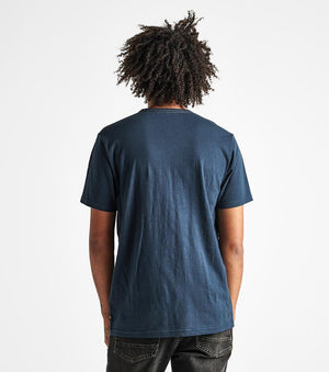 Well Worn Midweight Organic Knit Tee (Navy)