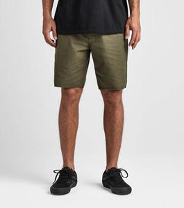 "Layover Stretch Travel Short 19"" (Military)"
