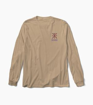 Outfitters and Storytellers Long Sleeve Premium Tee (Khaki)