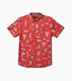 Seafood Stew Button-Up (Red)