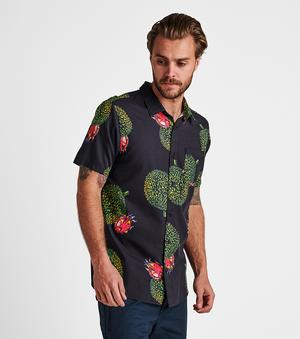 Durian Button Up (Black)