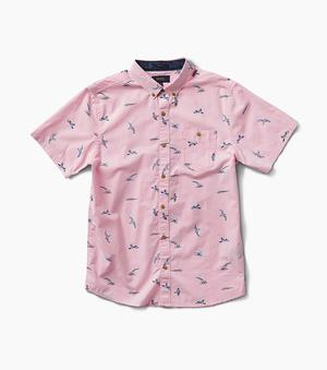 Shearwater Twilight Button Up (Pink)