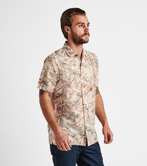 Java Leaf Button Up Shirt (Multi)