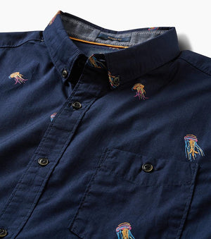 Pelagia Button Up Shirt (Navy)