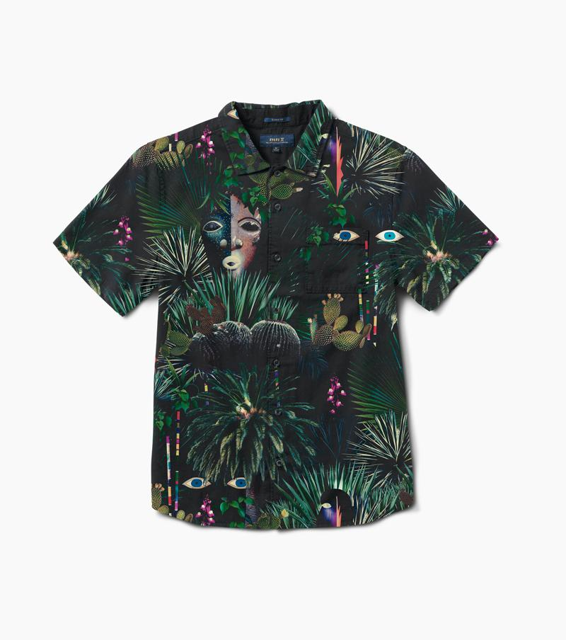 Jardin Oasis Button Up Shirt (Forest)