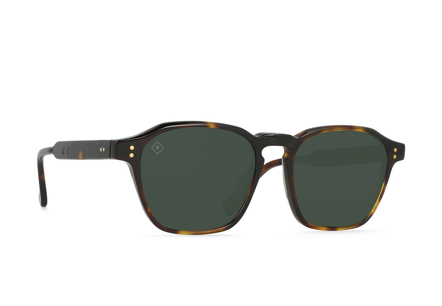 RAEN Aren Polarized Sunglasses (Kola Tortoise / Green)