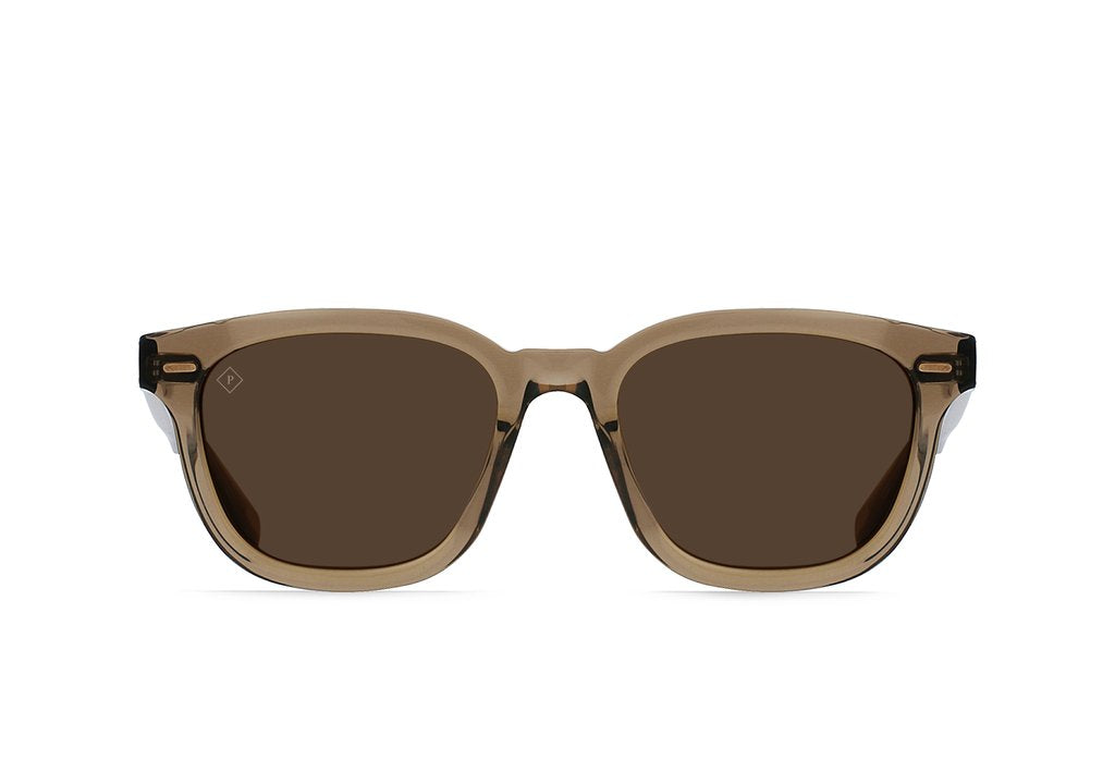 RAEN Myles Polarized Sunglasses (Ghost / Vibrant Brown)