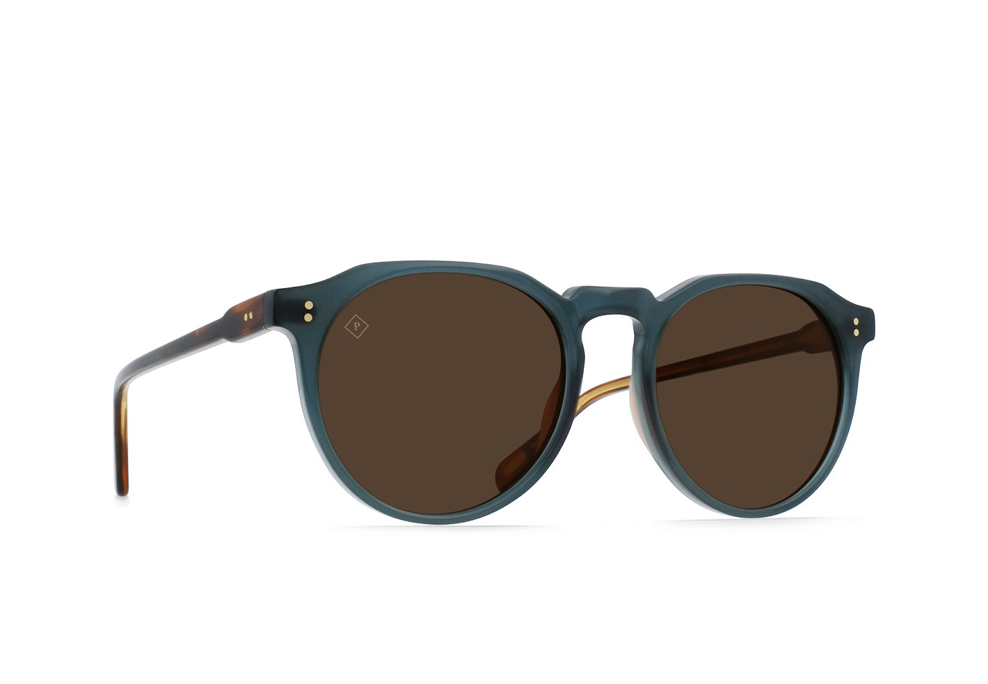 RAEN Remmy Polarized Sunglasses (Citrus / Vibrant Brown)