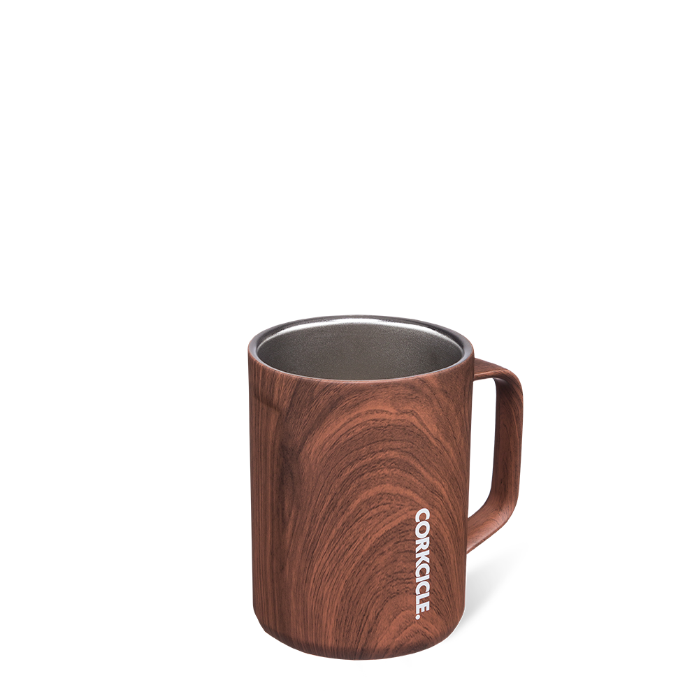 Origins Coffee Mug (Walnut Wood)