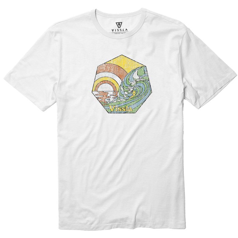 Swell Time Vintage Wash Tee (white)