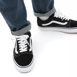 Vans Old Skool Shoes (Black/White)