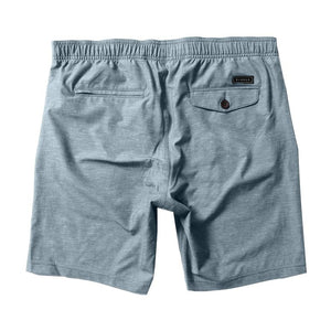 "Hemp No See Ums Elastic 18.5"" Walkshort (Light Slate)"