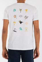 Load image into Gallery viewer, Icon Jumble Tee (White)