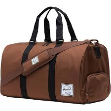 Novel Duffle (Brown/Tan Leather)