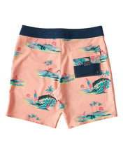 "Load image into Gallery viewer, Sunday Pro 19"" Boardshort (Neon Melon)"