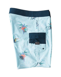 "73 Line Up Pro 19"" Boardshort (Sky Blue)"