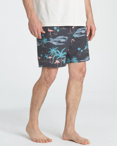 Sundays Layback Boardshort (Stealth)