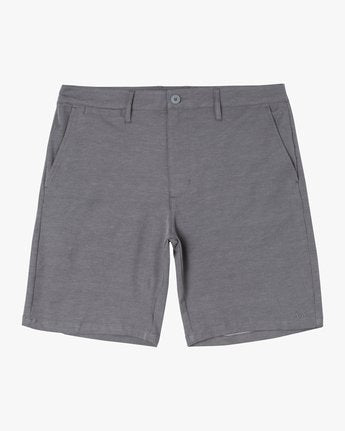 "Back In 19"" Hybrid Short (Athletic Heather)"