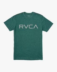 Big RVCA Tee (Black/Green)