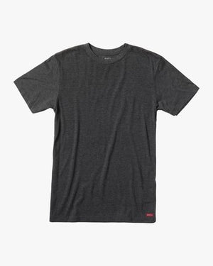 Solo Label Short Sleeve Tee (Black/Red)