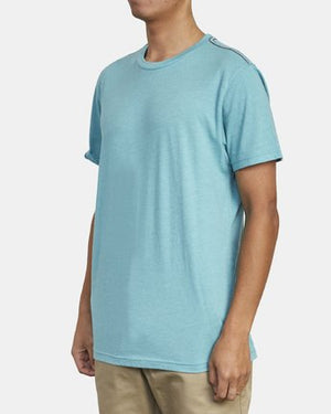 Solo Label Tee (Bermuda Blue)