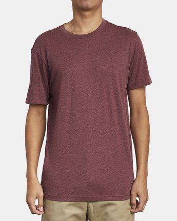 Solo Label Tee (Oxblood Red)
