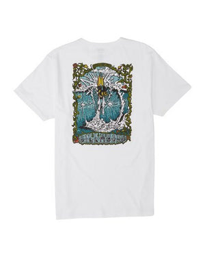 High Noon Short Sleeve Tee (White)