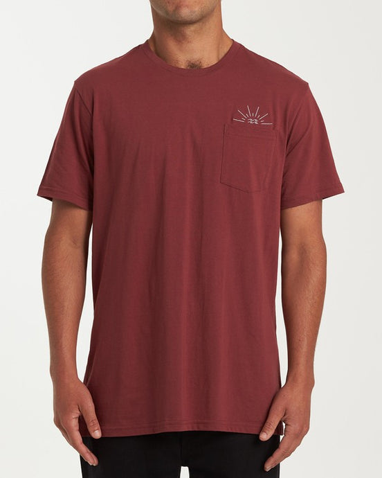 Burst T-Shirt (Oxblood)