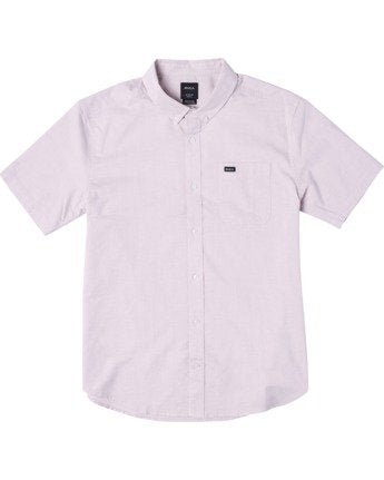 That'll Do Stretch Short Sleeve Shirt (Pale Mauve)