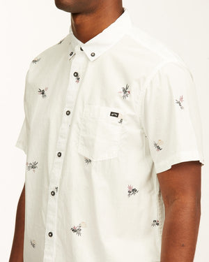 Sundays Mini Short Sleeve Shirt (Off White)