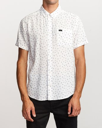 Prelude Floral Button-Up (Antique White)