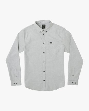 That'll Do Stretch Long Sleeve Button-Up (Pavement)