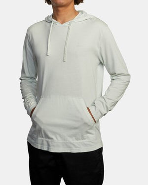 PTC Pigment Hooded Long Sleeve Tee (Green Tea)