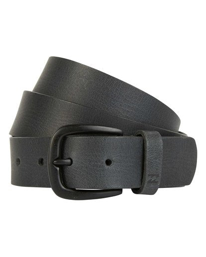 All Day Leather Belt (Black)
