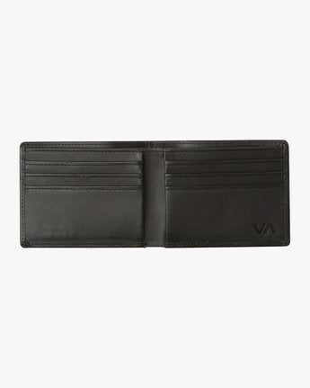Crest Bifold Wallet (Black)
