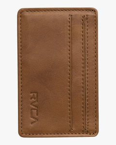 Clean Card Wallet (Tan)