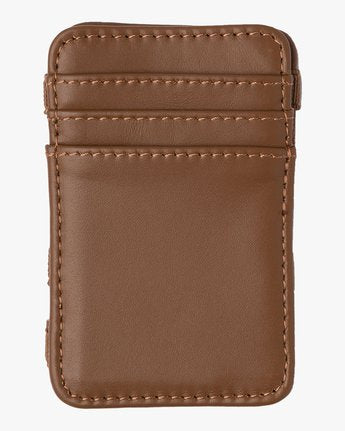 Leather Magic Wallet (Tan)
