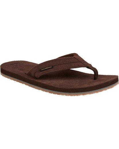 All Day Leather Sandals (Dark Brown)