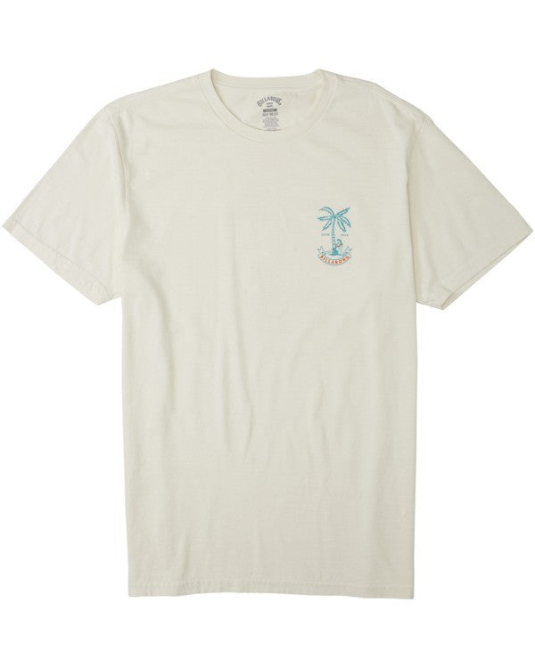 Lady Palm Tee (Off White)