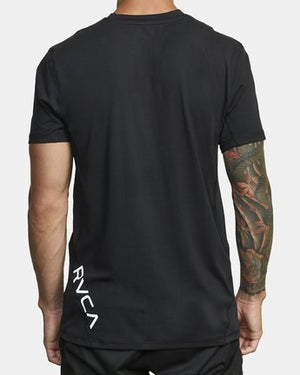 Sport Vent Short Sleeve Tee (Black)