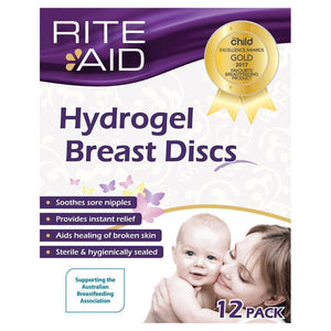 Rite Aid Hydrogel Breast Discs - 12 Pack