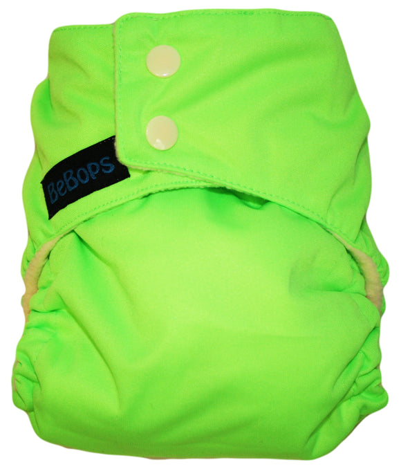 Neon Lime Nappy