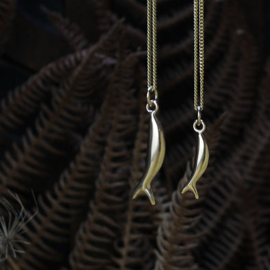 Baby Fish - solid 9ct gold version