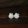 Tresco scallop cufflinks