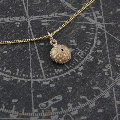 Little St. Martin's urchin - solid 9ct gold version.