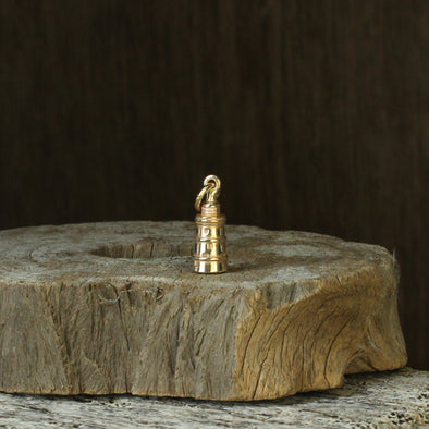 St Agnes lighthouse - solid 9ct gold version