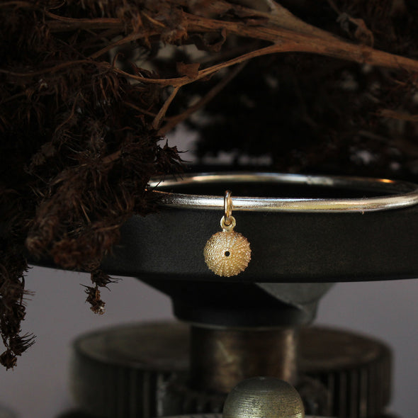 Gold St. Martin's little urchin bangle